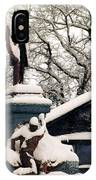 Abraham Lincoln Memorial Scotland Winter IPhone Case