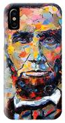 Abraham Lincoln Portrait IPhone Case