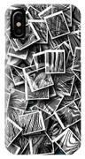 Abraxas Collage IPhone Case by Visual Artist Frank Bonilla
