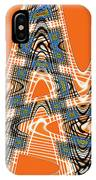 Abstract # 2060ew4bc IPhone Case