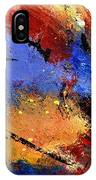 Abstract 012110 IPhone Case