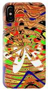 Abstract #1859drawpc IPhone Case