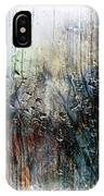 2f Abstract Expressionism Digital Painting IPhone Case