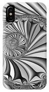 Abstract 527 Bw IPhone X Case