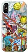Abstract Amusement Park IPhone Case