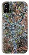 Abstract And Lichen IPhone Case