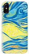 Abstract Art Good Morning Contemporary Modern Artwork Giclee Fine Art Prints Life Cycle Swirls Water IPhone Case