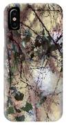 Abstract Birch IPhone Case