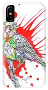 Abstract Bird 002 IPhone Case