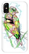 Abstract Bird 01 IPhone Case