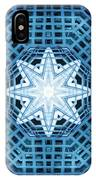 Abstract Blue 14 IPhone Case
