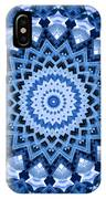 Abstract Blue 17 IPhone Case
