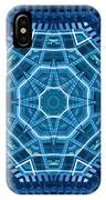 Abstract Blue 18 IPhone Case