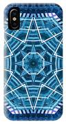 Abstract Blue 19 IPhone Case