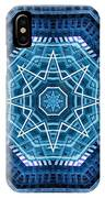 Abstract Blue 20 IPhone Case