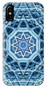Abstract Blue 22 IPhone Case