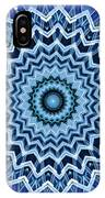 Abstract Blue 25 IPhone Case