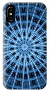Abstract Blue 28 IPhone Case