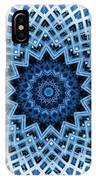 Abstract Blue 30 IPhone Case