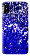 Abstract Blue IPhone Case