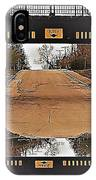 Abstract Bridge Over Road IPhone Case