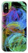 Abstract Bubbles IPhone Case