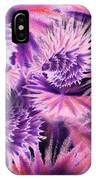 Abstract Burst Of Flowers IPhone Case