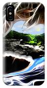 Abstract-cavern IPhone Case