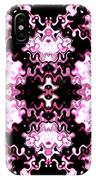 Pink And Black Design  IPhone Case
