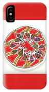 Abstract Circle Design #1 IPhone Case