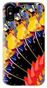 Abstract Collage Of Colors IPhone Case