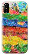Abstract Color Combination Series - No 8 IPhone Case