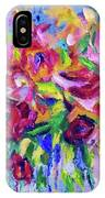 Abstract Colorful Flowers IPhone Case