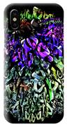 Abstract Cone Flower Digital Painting A262016 IPhone Case