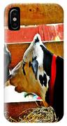 Abstract Cows IPhone Case