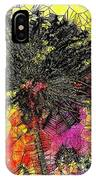 Abstract Dandelion Stained Glass IPhone Case
