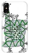 Abstract Design Of Stumps And Bricks #1 IPhone Case