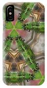 Abstract Dragons IPhone Case