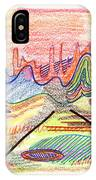 Abstract Drawing Five IPhone Case