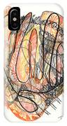 Abstract Drawing Forty-five IPhone Case