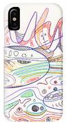 Abstract Drawing Nineteen IPhone Case