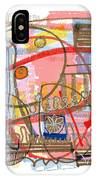 Abstract Drawing Sixty-eight IPhone Case