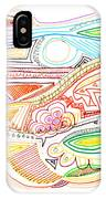 Abstract Drawing Sixty-two IPhone Case