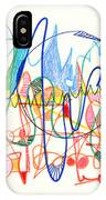 Abstract Drawing Two IPhone Case