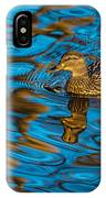 Abstract Duck IPhone Case