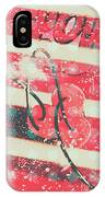 Abstract Dynamite Charge IPhone Case