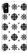 Abstract Ethnic Seamless Floral Pattern Design IPhone Case