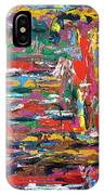 Abstract Expressionism Bvdschueren IPhone Case