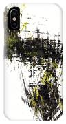 Abstract Expressionism Intensive Painting 62.102511   IPhone Case