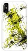 Abstract Expressionism Painting 55.102411 IPhone Case